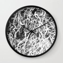 Glowing Brush Wall Clock
