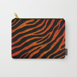 Ripped SpaceTime Stripes - Red/Orange Carry-All Pouch