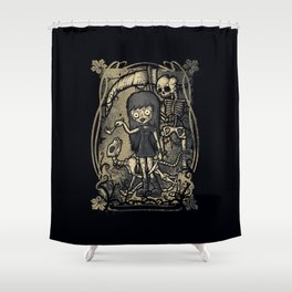 In The Darkness Shower Curtain