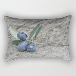 Olive Still Life Rectangular Pillow