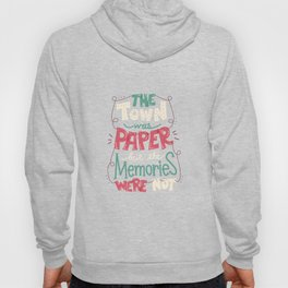 Paper Towns: Town and Memories Hoody