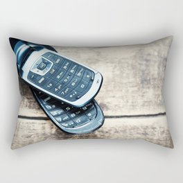Retro Communication 5 Rectangular Pillow