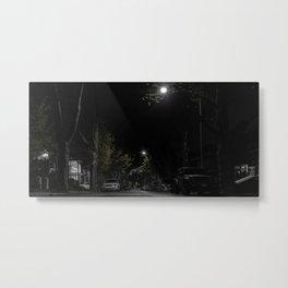 Night street, Brooklyn, New York (2020-5-GNY119) Metal Print