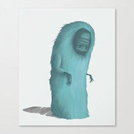 Snow monster Canvas Print