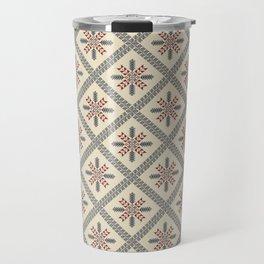 Palestinian embroidery pattern Travel Mug