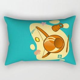 Capoeira 653 Rectangular Pillow