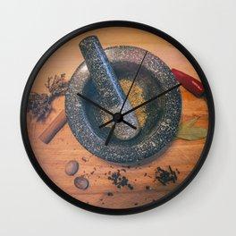 Grind. Wall Clock