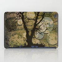 silhouette iPad Cases featuring Silhouette by April Gann