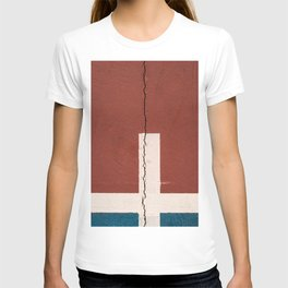 Cracked wall T-shirt