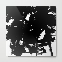 Brushstrokes No.21 by Kathy Morton Stanion Metal Print