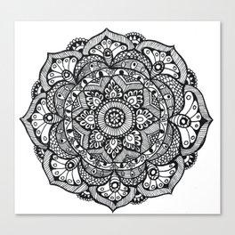 Mandala - Vulpecula Canvas Print