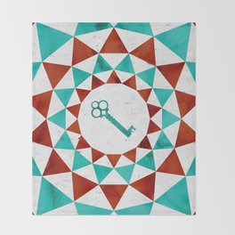 Phantom Keys Series - 01 Throw Blanket