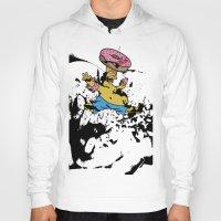 simpsons Hoodies featuring Simpsons 25th by sinonelineman