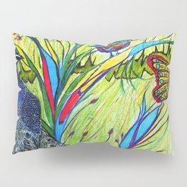Peacock In Dreamland Pillow Sham