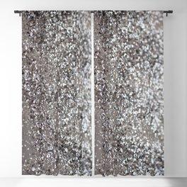 Sparkling SILVER Lady Glitter #1 #decor #art #society6 Blackout Curtain