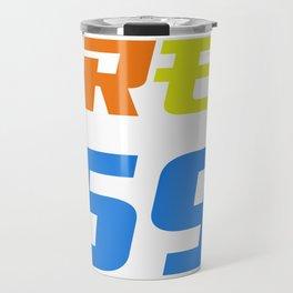 Free 69 Tekashi 6ix9ine Fan Design Rap Hip Hop US Travel Mug