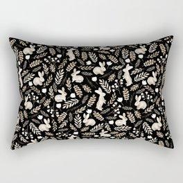 Cute rabbits Rectangular Pillow