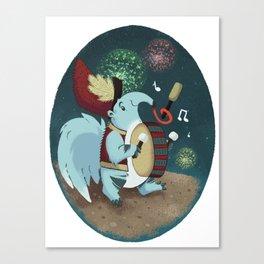 Drumline Canvas Print
