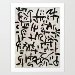 Cipher Art Print