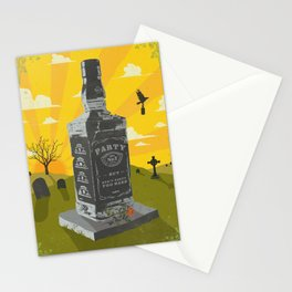 PARTY, BUT DON'T PARTY TOO HARD Stationery Cards