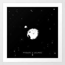 PHOBOS & DEIMOS Art Print