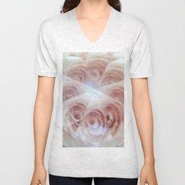 crystal rose Unisex V-Neck
