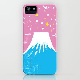 "Symbol of happiness ""Mount Fuji"" Japan iPhone Case"