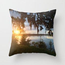 Savannah Sunset Throw Pillow