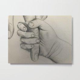 Untitled #6 by Jessa Crisp Metal Print
