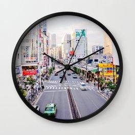 Shinjuku forever Wall Clock