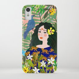 Boho Lady iPhone Case
