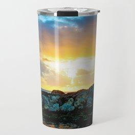 Burst of Light Travel Mug