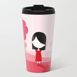 Polkadot Dress Travel Mug