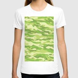 Green Kelp Camo Pattern T-shirt