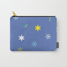 Snowflakes_A Carry-All Pouch