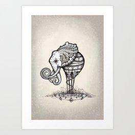 Elliphant Art Print