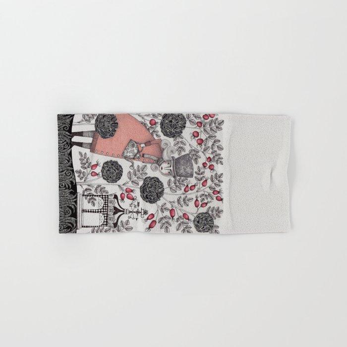 Winter Garden Hand & Bath Towel