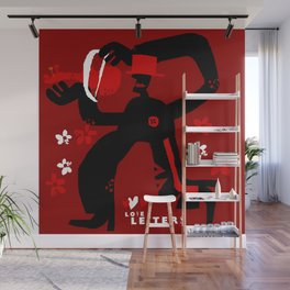 Love letters Wall Mural