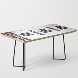 Behave Coffee Table