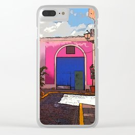 Old San Juan Ally Clear iPhone Case