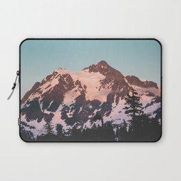 Pink Cascade Mountain Laptop Sleeve