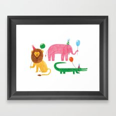 It's party time! Framed Art Print