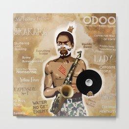 Fela Kuti Metal Print