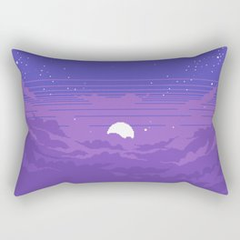 Moonburst V2 Rectangular Pillow