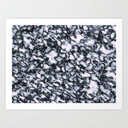 White Out Art Print