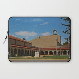 Lourdes University-  Franciscan Center in the Spring II Laptop Sleeve