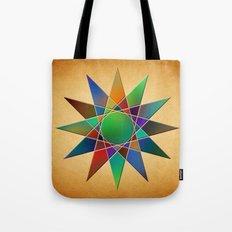 Rainbow Star Tote Bag