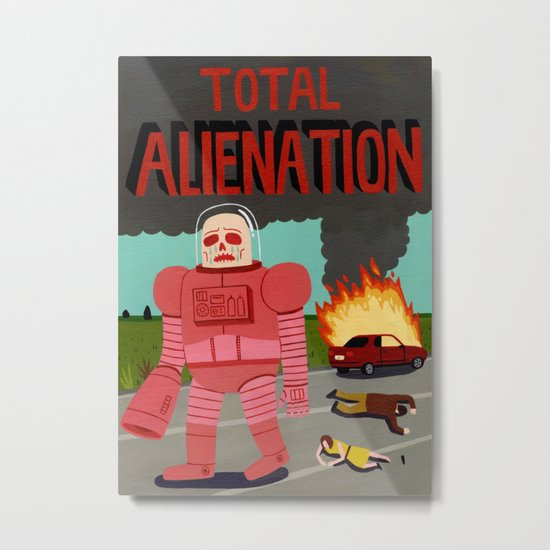 Total Alienation Metal Print