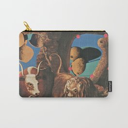 Warhol's Cantaloupes In The Peaceable Kingdom  Carry-All Pouch
