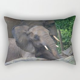 Elephants Eye Rectangular Pillow